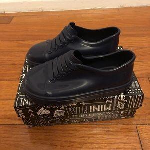 Mini Melissa navy blue sneakers toddler sz10
